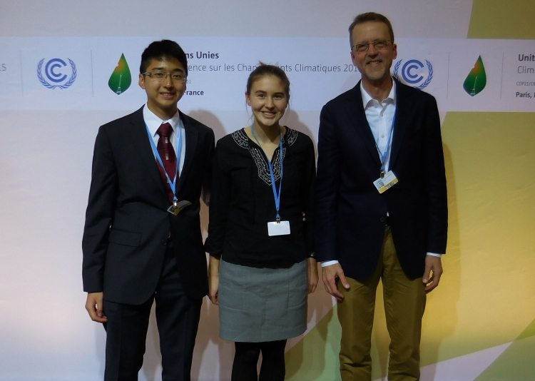 Swarthmore Students at COP 21