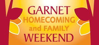 Garnet Homecoming and Family Weekend logo