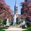 Swann Fountain on Ben Franklin Parkway