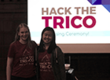 Ellen Liu, a Swarthmore student, co-organized the March 2017 tri-college hackathon with Jocelyn Dunkley, a Bryn Mawr student.