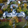 Parrish Hall from above