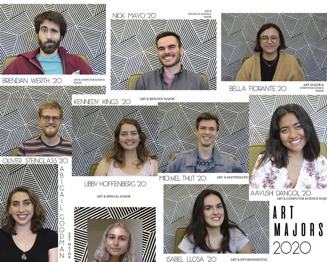 Swarthmore College Senior Art majors 2020