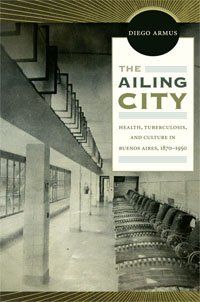 The cover of the book, The Ailing City