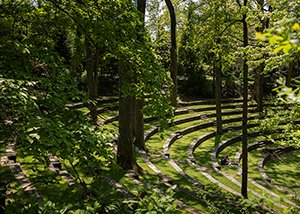 Amphitheater during spring
