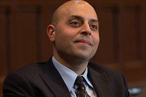 Sa'ed Atshan in suit and tie