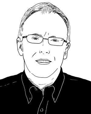 Sketch of Chris Niemczewski '74