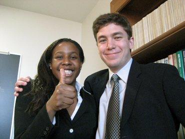 Danielle Toaltoan '07 and Michael Drezner '07