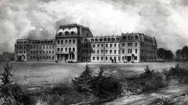 Parrish Hall circa 1866-1870