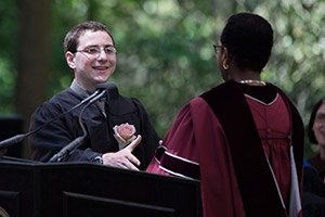 Ben Marks '16 at Commencement