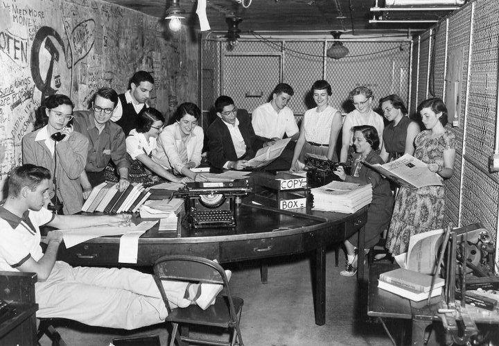 Phoenix Staff from around 1950