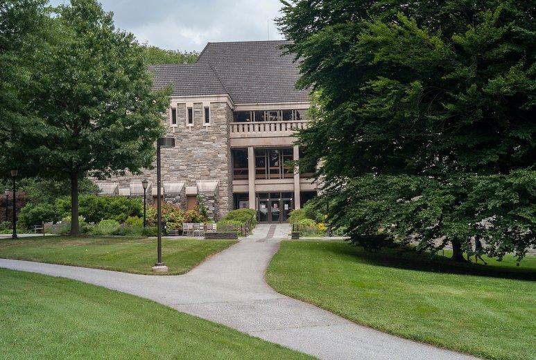 McCabe Library exterior