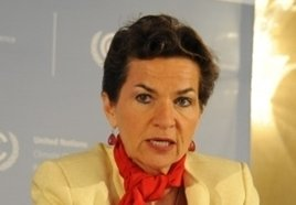 U.N. Executive Secretary Christiana Figueres '79 (photo by Jan Golinski/U.N.)
