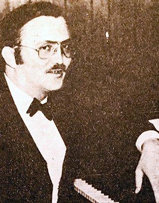 Hans Boman at piano
