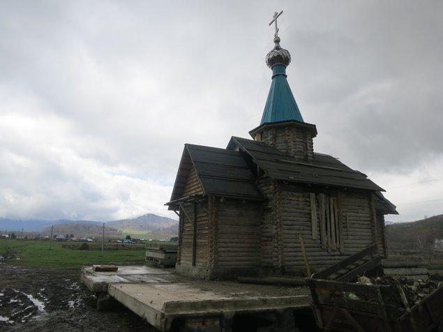 Chapel in Poporechnoe, Kazakhstan