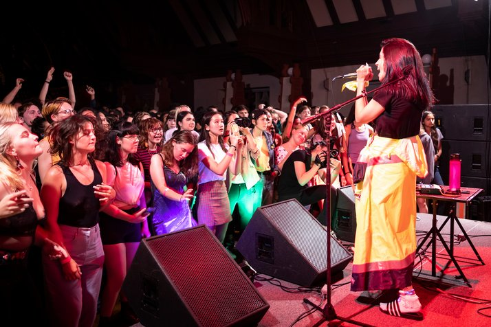 Pussy Riot in concert