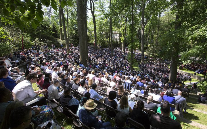 Commencement in Ampitheater