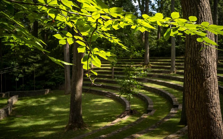amphitheater in Spring