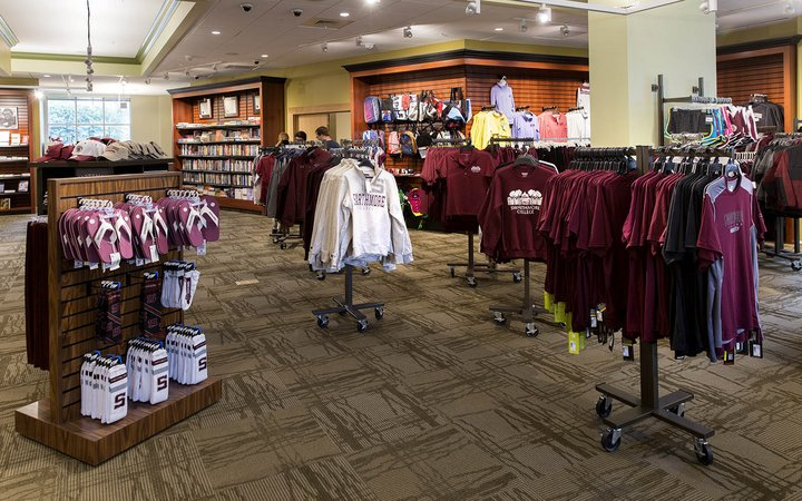 Items for sale at the Swarthmore College Bookstore