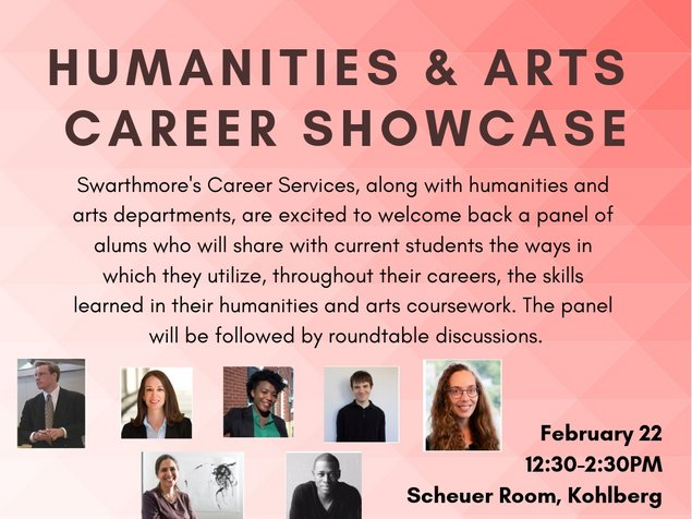 Humanities & Arts Career Showcase