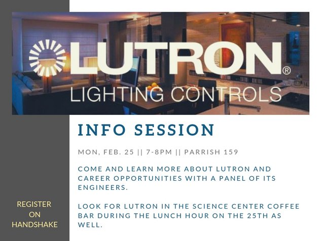 Lutron Info Session
