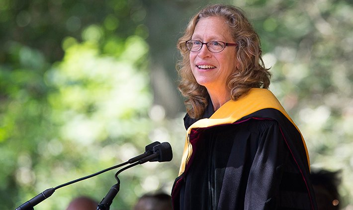 Commencement 2015 Molly Miller Jahn '80, Doctor of Sciences