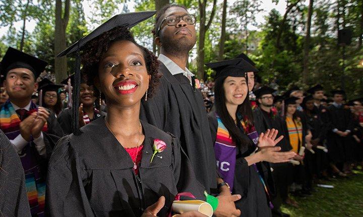 smiling graduates