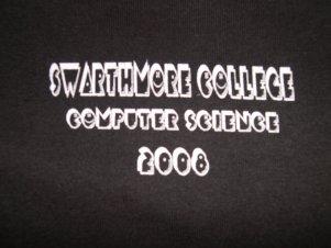 2008 shirt front: pacman/hilbert curve