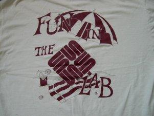 19?? shirt back: fun in the sunlab