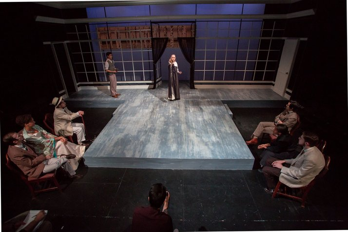 Honors Directing Thesis by Michelle Johnson '16: The Seagull