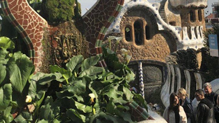 Gaudi architecture detail