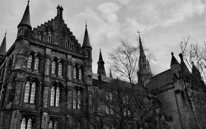 city view, Glasgow
