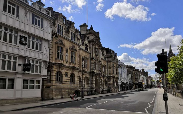street view of Oxford