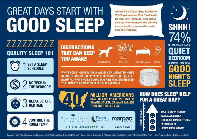 Great Days Start with Good Sleep