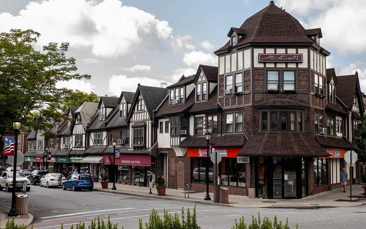 Downtown Swarthmore, PA