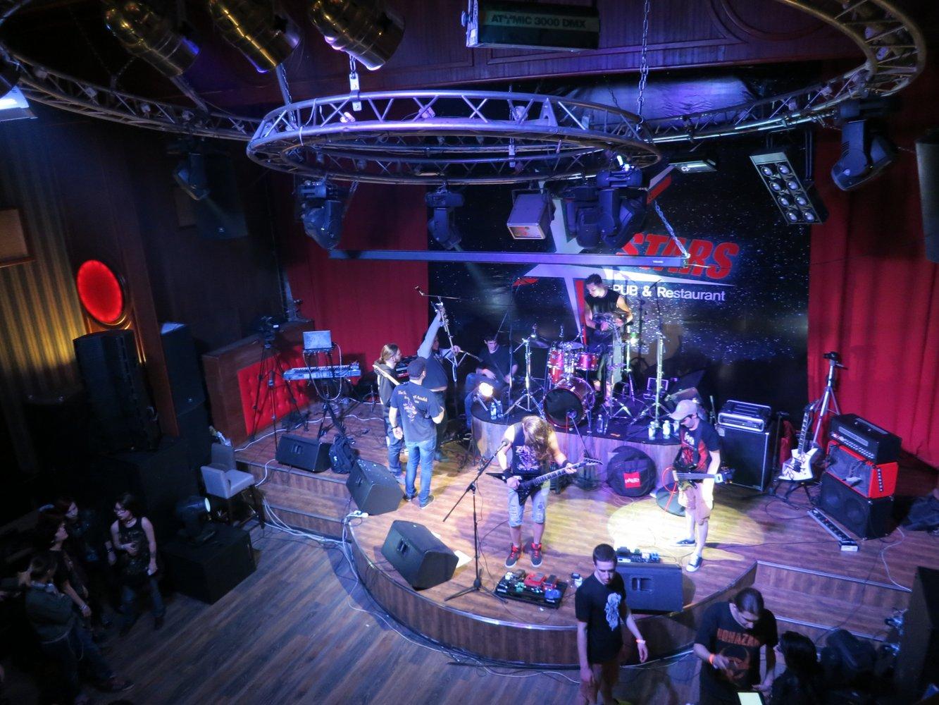 Metal Concert in Almaty, Kazakhstan