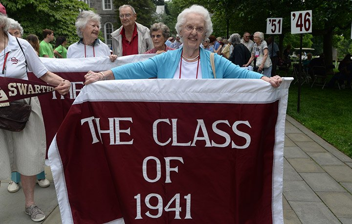 The Class of 1941 at Alumni Weekend 2016.