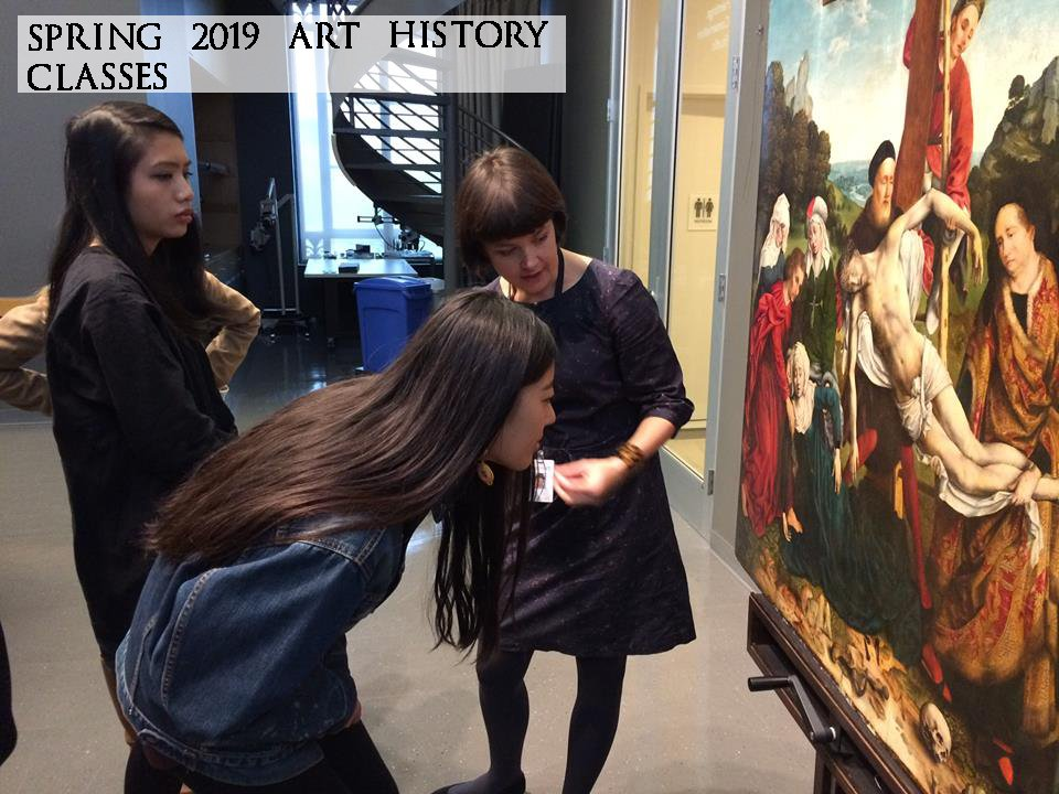 PMA Conservation trip for an art history class.