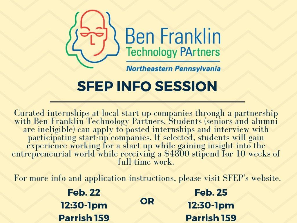 SFEP Info Session