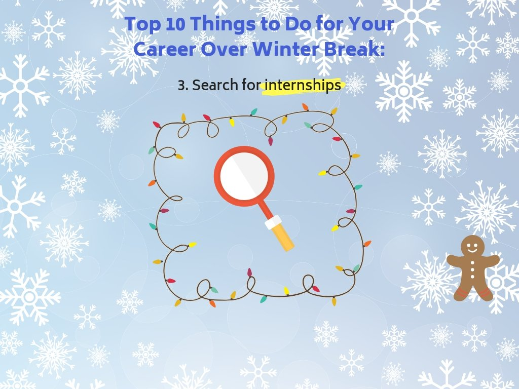 3. Search for Internships.