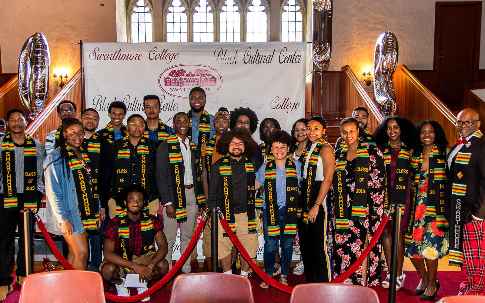 Students, faculty and staff celebrate the Class of 2019