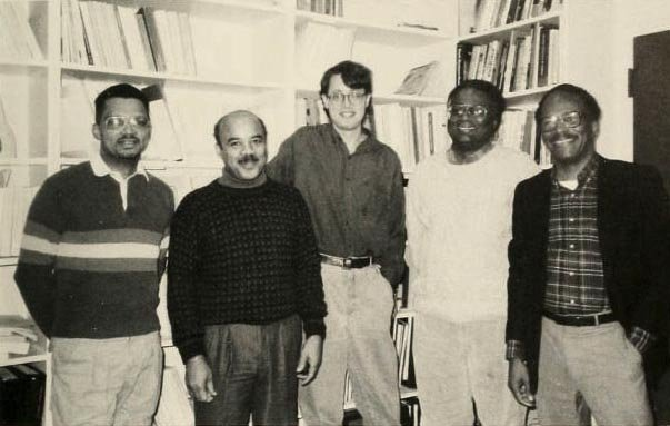 The Black Studies Department in 1991