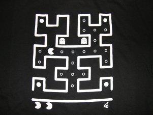 2008 shirt back: pacman/hilbert curve