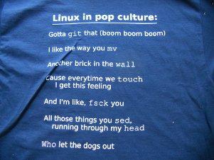 2011 shirt back: pop culture