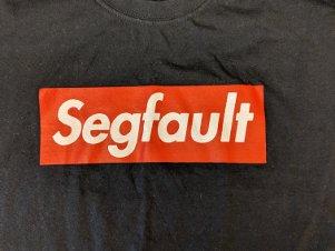 2018 shirt front: segfault