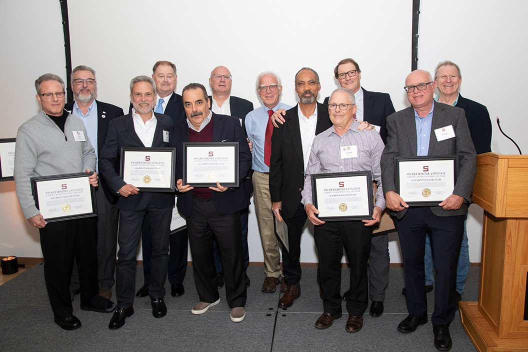 1974 men's soccer team inducted into Hall of Fame