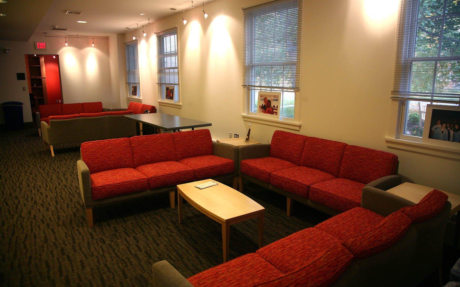 Interior shot of the Lang Center