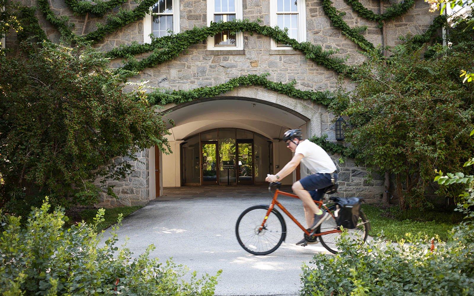 biking by parrish