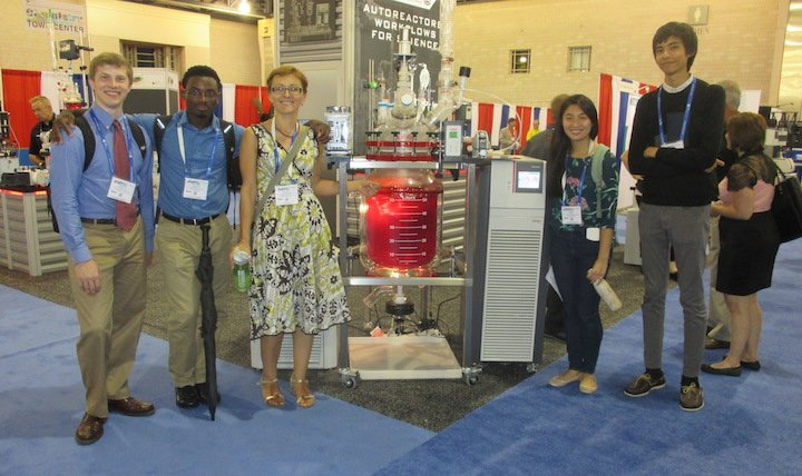 The lab at the American Chemical Society meeting in Philadelphia.