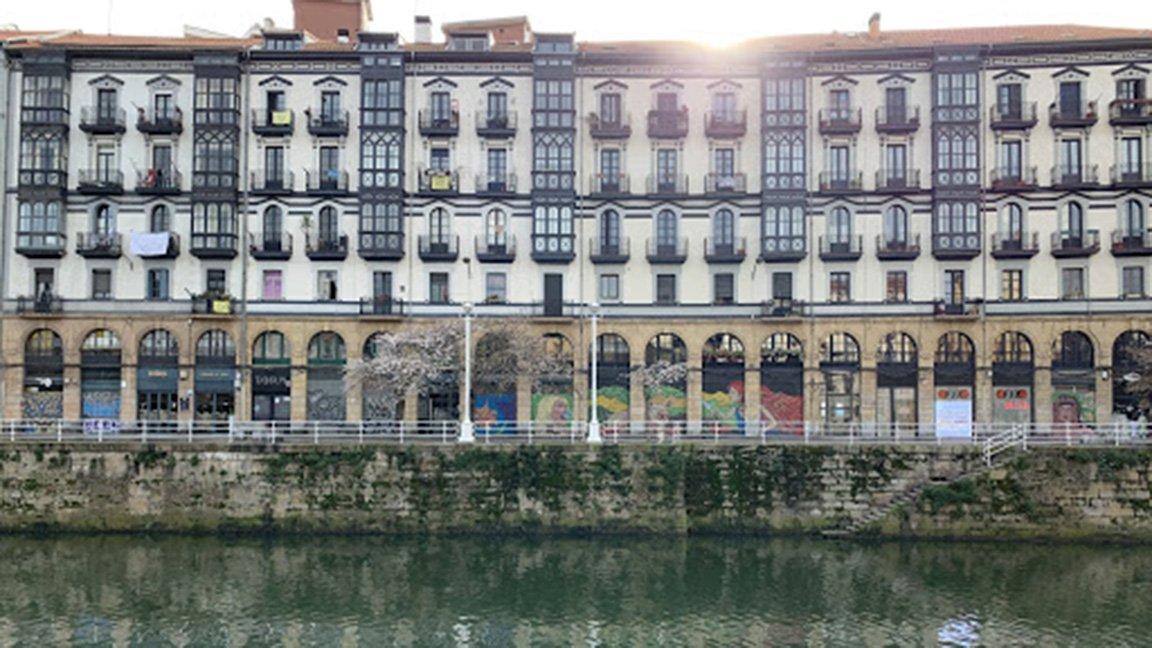 view of Bilbao, Spain