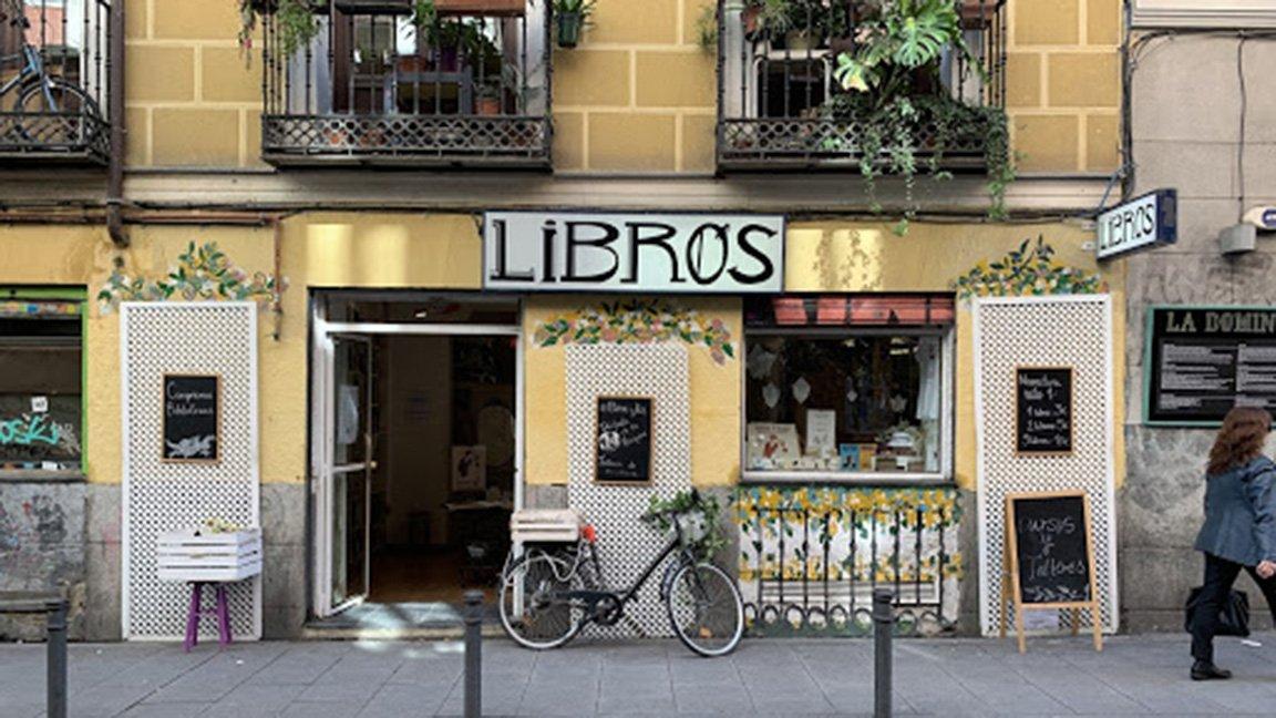 bookstore in Madrid